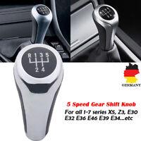 5 Gang Schaltknauf Schaltknopf Für BMW 1-7 series X5 Z3 E30 E32 E36 E46 E39 E34