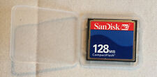 SanDisk Compact Flash CF-card 128mb sdcfb