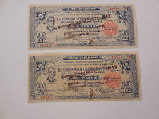 Philippines Emergency Guerrilla Currency Negros Nice 2 Peso Sequential - # 90517