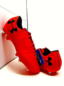 Under Armour Magnetico Hybrid Cleats -Red/Rogue- 3021839-600 -> Fast Shipping!