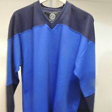 Blank St Louis Blues Colors Hockey Jersey New Mens X-LARGE