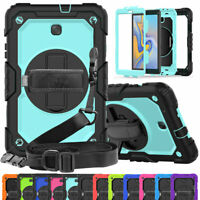 "For Samsung Galaxy Tab A 10.1"" T580 T585 2016 Shockproof Stand Case Strap Cover"
