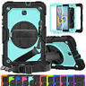 """For Samsung Galaxy Tab A 10.1"""" T580 T585 Shockproof Hybrid Stand Case with Strap"""