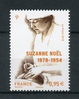 France 2018 MNH WW1 WWI Suzanne Noel Cosmetic Surgeon 1v Set Medical Stamps