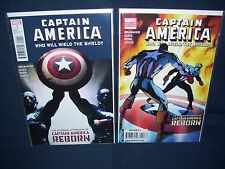 Captain America Who Will Wield the Shield Both Covers NM with Bag and Board