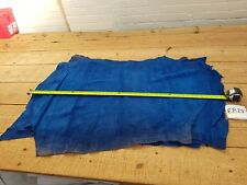 Royal Blue Calf Suede Leather 1mm Thick Split Hide Top Quality Genuine EB28