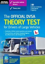 DVSA THEORY TEST DVD-ROM CD Q&A FOR LORRY AND BUS DRIVERS LGV / PCV / HGV 2018