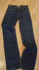 Damen Levis 627 Jeans Hose W28 L34 Straight Fit