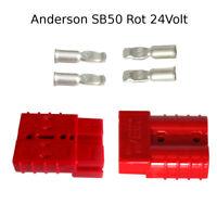Anderson Batteriestecker SET Blau 48V SBE 160 Ampere 35mm² SBX//E 1//0 max.150Volt