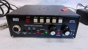 MFJ-434 Voice Memory Keyer + Manual & Adapter for Kenwood Icom Yaesu Alinco etc