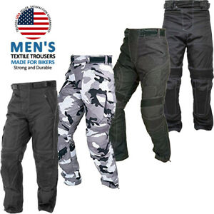 Motorbike Motorcycle Waterproof Cordura Textile Trousers Protective Thermal Pant