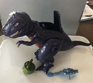 Vintage He-Man Tyrantisaurus Dinosaur T-Rex Masters Of The Universe Complete!!