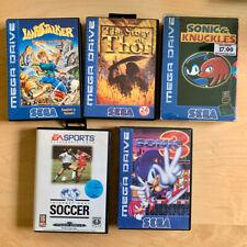 Sega Mega Drive Spiele: Story of Thor / Landstalker / Sonic 3 & Knuckles / Fifa