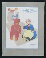 Catalogue JOUETS ÉTRENNES 1925 GRAND BAZAR HOTEL DE VILLE toy catalog Becassine