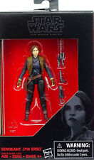 "SERGEANT JYN ERSO (3,75"") WALMART EXCLUSIVE STAR WARS THE BLACK SERIES HASBRO"