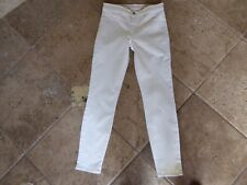 J Brand, 'Skinny Leg', in Lemon Custard, EUC, Sz 26,W27L27 1/4,Stretch, #811K120
