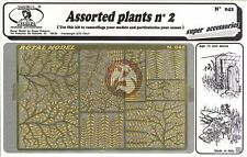 Royal Model 1/35 Assorted Plants No.2 [Photo-etch Diorama Accessory kit] 042