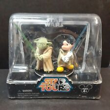 Star Wars Star Tours Jedi Mickey & Yoda Action Figures New 2-Pack Disney Parks