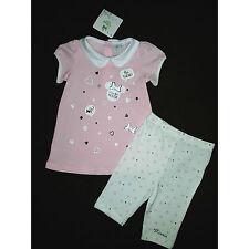 DISNEY BABY ensemble robe + legging  MINNIE bébé  rose taille 12 mois NEUF