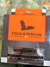 FIELD & STREAM   clear  4 lb 330yds Fishing Line