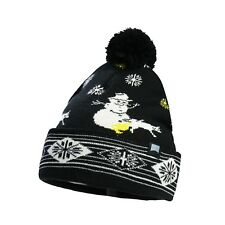 e05c244edbf Beautiful Giant Women Men Snowman Pom Pom Knitted Beanie Warm Cuff Cap Hat  Black