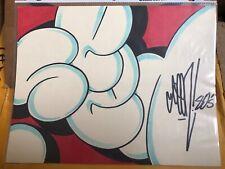 "SEEN ""Godfather of Graffiti' Rare Original Drawing Signed"
