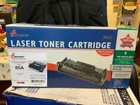 HP CE285A 85A LaserJet Toner Cartridge - Black