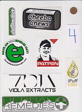 Lot of Marijuana Industry Stickers-Colorado MMJ Dispensary Weed Edibles 420-#4