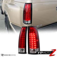 For 88 98 Chevy Gmc C10 Ck Suburban Tahoe Yukon Led Red Lens Brake Tail Light