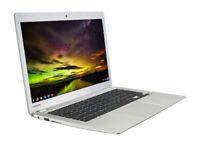 "Toshiba Chromebook 13.3"" 16GB SSD 4GB RAM Intel 2.16 GHz Chrome OS WebCam Wifi"