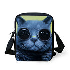 Women's Lady Fashion Cat Messenger Cross Body Travel Satchel Shoulder Bag Small