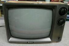 Samsung Vintage Retro 1986 CRT TV  TB1210 Uhf 28 Watts for parts ONLY
