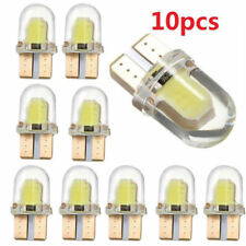 10x LED T10 8SMD CANBUS 194 168 W5W COB Silica Super White License Light Bulb