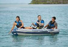 New listing INTEX Mariner 3 Inflatable Raft River Dinghy Boat & Oars | 68373EP (Open Box)
