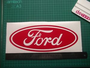 Ford..oval....Large... vinyl decal sticker ....x2..