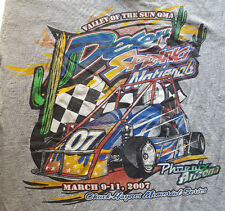 Valley Of The Sun QMA 2007 Small T Shirt Desert Spring Nationals Phoenix Racing
