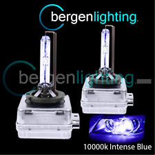D1S INTENSE BLUE XENON HID LIGHT BULBS HEADLIGHT HEADLAMP 10000K 35W OEM FIT 2