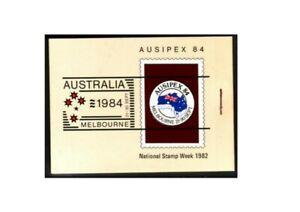 MAD150a) Australia 1982 AUSIPEX II - AAT (Right Staple) Booklet MUH
