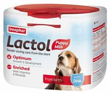 Beaphar Lactol Milk replacer newborn & orphaned puppy Weaning Whelping Essential