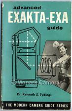 Advanced Exakta & EXA Guide Book, More Film Camera Instruction Manuals Listed