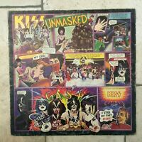 Kiss _ Unmasked _ Disco LP Vinile 33giri  _ 1980 Casablanca Italy 1st press