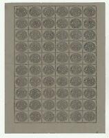 FRANCOBOLLI - 1867 STATO PONTIFICIO C.3 RISTAMPE DI MOENZ E/2827