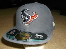 Houston Texans New Era 59 Fifty Fitted hat - size 7 1/2 nwt Free Shipping