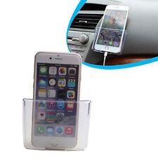 Universal Car Accessories Organizer Storage Box Cell Phone Transparent Holder