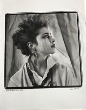 Madonna Original Photograph By Laura Levine NYC 1982 Signed Numbered 3/50 Rare