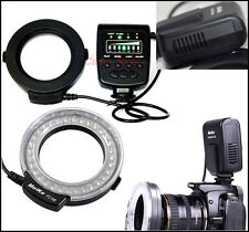 Meike MK-FC100 LED Macro Ring Flash for Sony A100 A200 A230 A290 A300 A330 A550