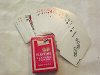 VINTAGE UNITED STATES PLAYING CARD COMPANY PLAYTIME CHILDREN MINI PLAYING CARDS
