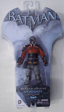 ARKHAM ORIGINS. DEADSHOT 6 INCH ACTION FIGURE. SERIES 2. BATMAN. UNOPENED. DC.