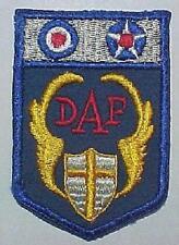 WW2 AAF Desert Air Force Patch - On Wool  *DAF*