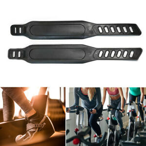 Fitness Exercise Bike Pedal Straps Home Gym Replacement Parts Easy Install